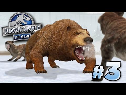 THE BEAR!!!    Jurassic World - Cenozoic Series - Ep3 HD