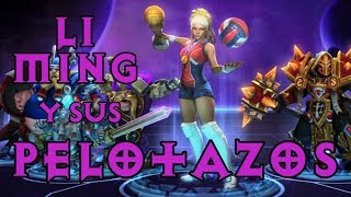 ¿Osáis desafiarme? ¡Li Ming! Build de los pelotazos (W) y consejos en partida | Heroes of the Storm