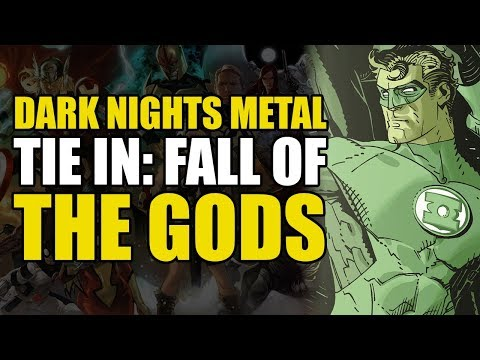 Hal Jordan/Green Lantern Corps Vol 5: Dark Nights Metal Tie In/Fall of The Gods