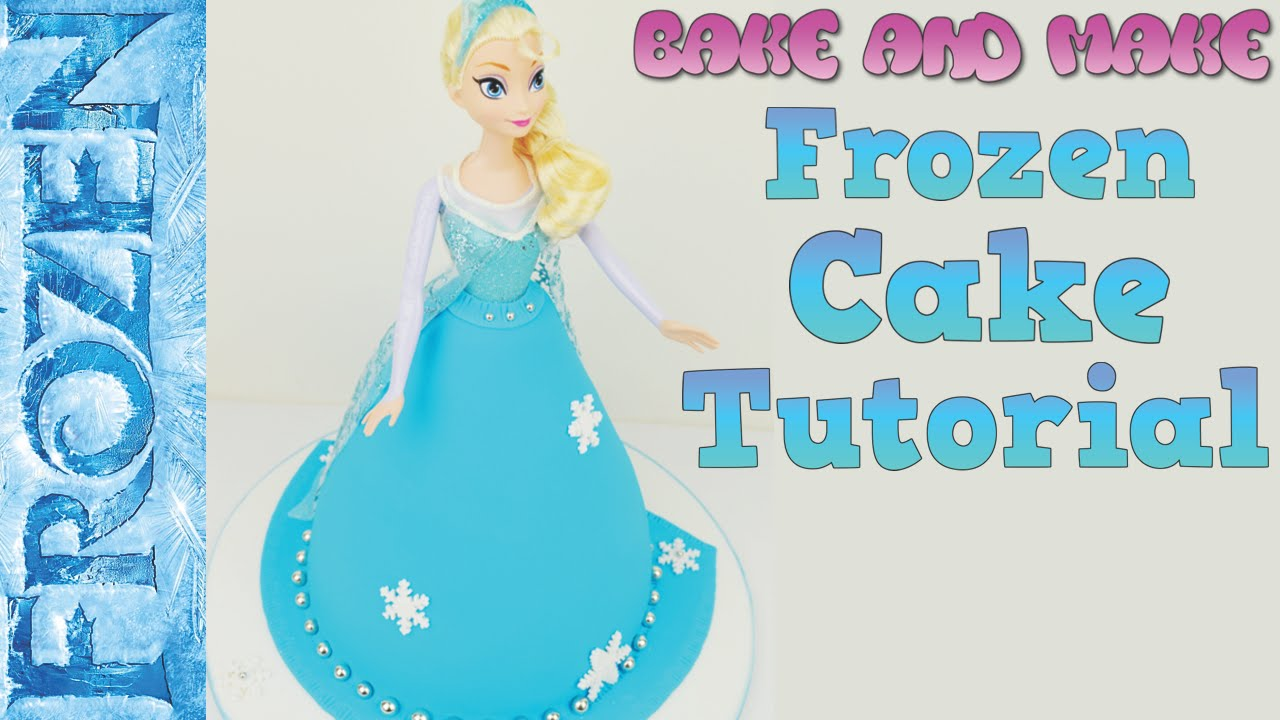 How To Make Elsa Doll Cake