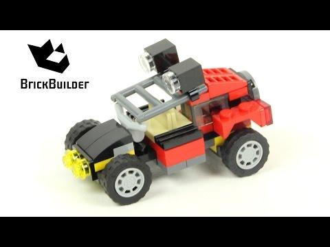 Lego Creator 31040 Dune Buggy - Lego Speed Build