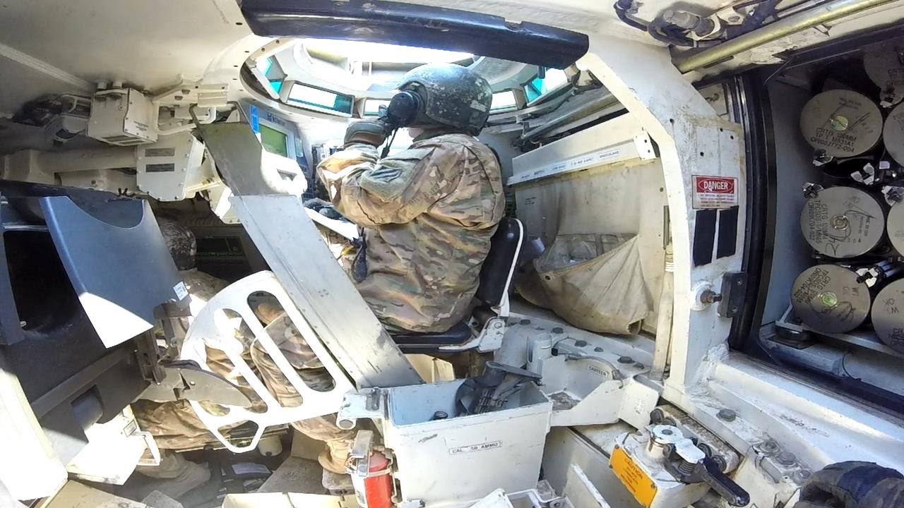 A Look Inside the M1 Abrams - POV of Tank Crewman [Training]