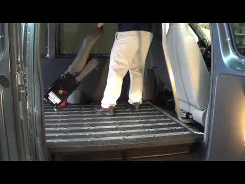 AbiliTrax Step-N-Lock Seating installs, removes and repositions in seconds!