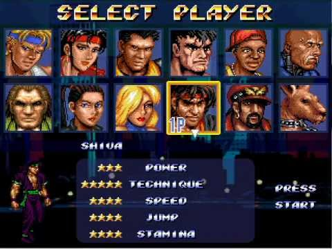 Resultado de imagem para Street of Rage character select
