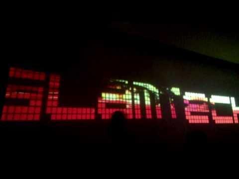 Disorient Glamtech 2011 - VJing the GlamTech Sign