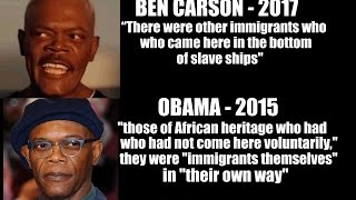 FLASHBACK: Obama Also Said Slaves Were Immigrants, Where Was Samuel L Jackson Outrage Then?