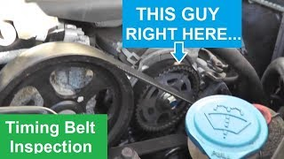 How to Inspect a Timing Belt | Acura TL