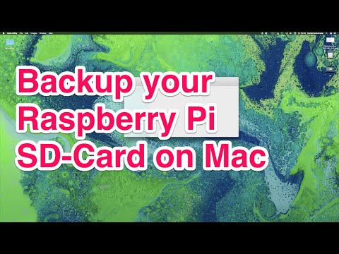 Backup of Raspberry Pi SD-Card to an image on Mac - YouTube