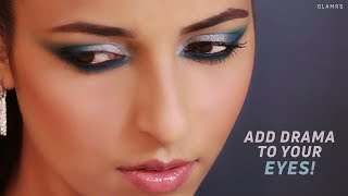 Dramatic Blue & Silver Eye Makeup Looks | Glamrs Classics With Pallavi Symons