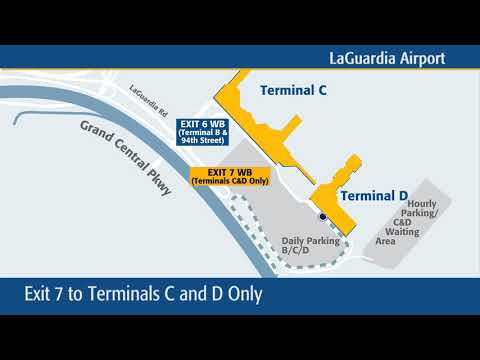 New Traffic Pattern on Grand Central Parkway Exits to LaGuardia Airport