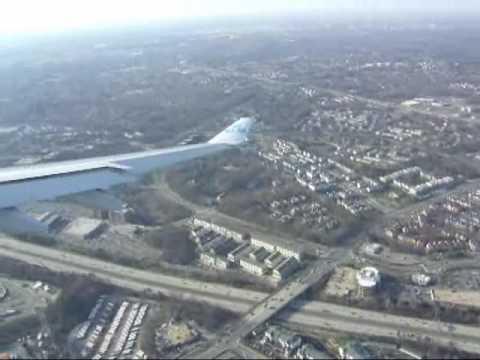 Landing Washington Dulles International Airport(+Go-around ...