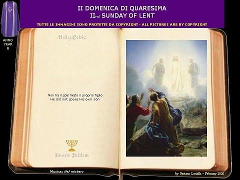 La Trasfigurazione di Gesù.Questi è il Figlio mio, l'amato:ascoltatelo!
