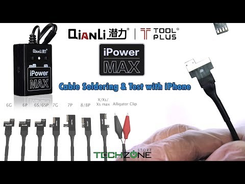QianLi ToolPlus IPower Max Pro IPhone DC Power Cables Supply IPhone 6 7 8 X XS XSMAX Cable Soldering
