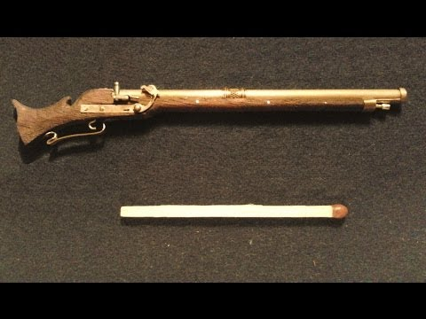 The world´s smallest working matchlock musket part 2