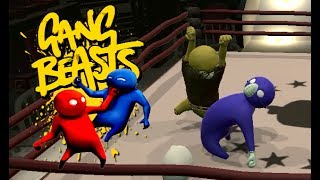 GANG BEASTS ONLINE - Kyle Going CRAZY!!!