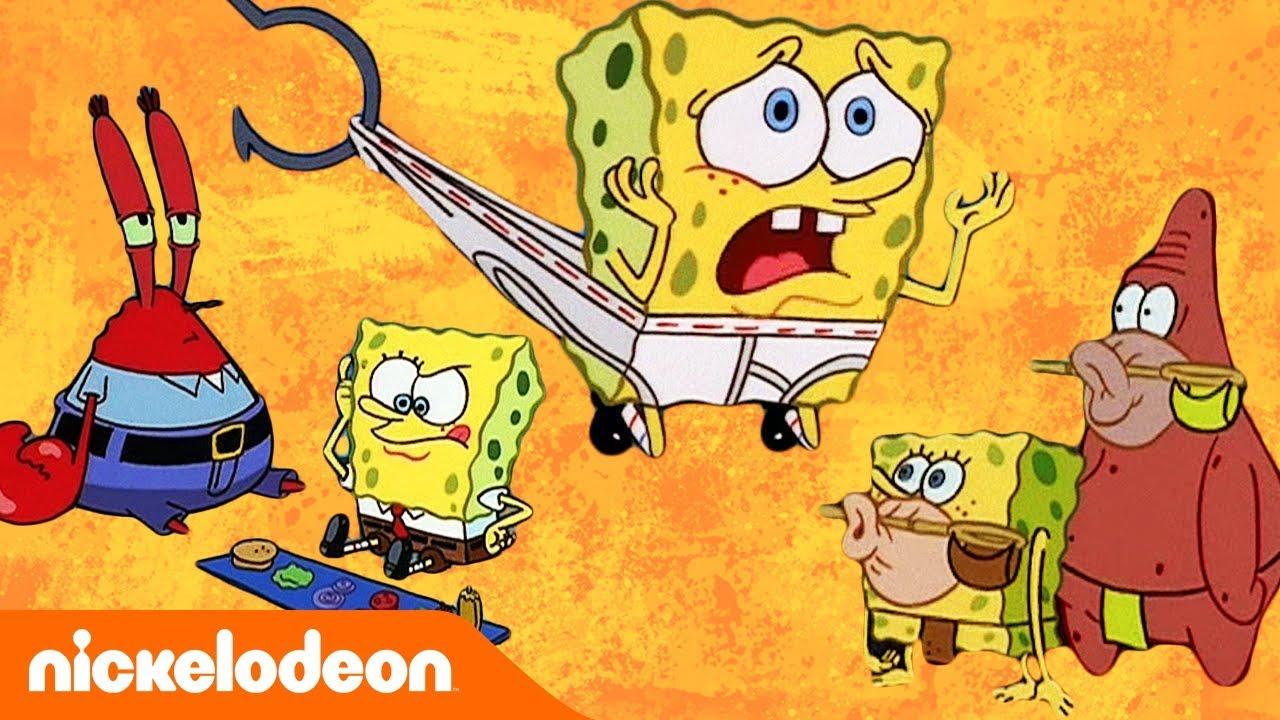 spongebob ist der finger oben wird man dich loben