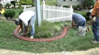 Stamped Brick Curb Time Lapse By Concreteva.com