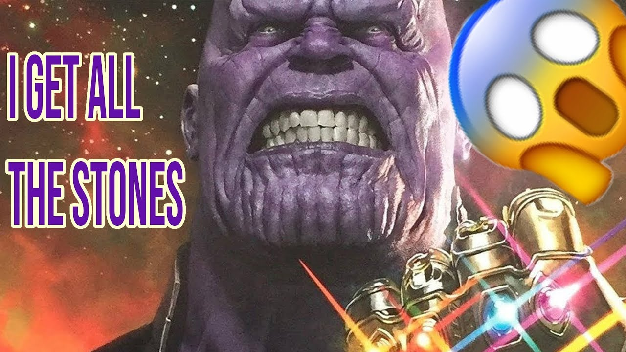 Thanos Gets All Infinity Stones Funny Videos And Memes