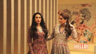 Behind the scenes with 'The K Sisters,'  along with their friend & fashion mentor, Manish Malhotra
