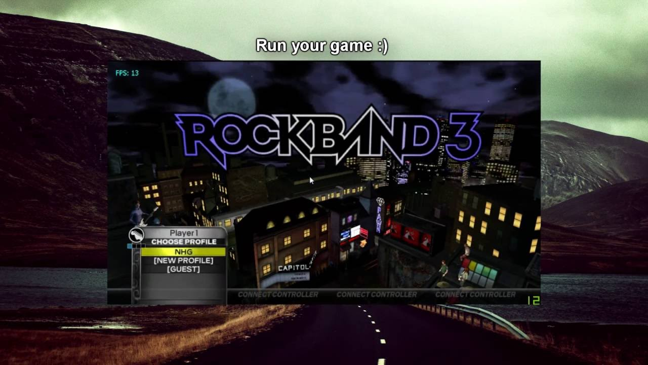 How to get Rock Band 3 DLC in Dolphin