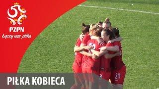 Piłka Kobieca: Bramki z meczu Turcja - Polska