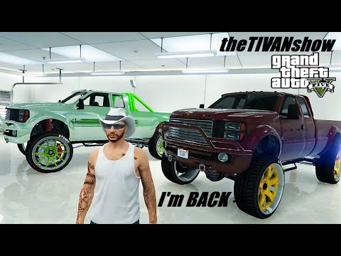 GTA5 - SATURDAY NIGHT ALL NIGHT STREAM W/ TIVAN = I'M BACK!! PS4 OPEN LOBBY