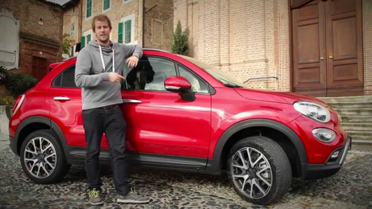 fiat 500x cross 2015 test ilovecars review youtube. Black Bedroom Furniture Sets. Home Design Ideas
