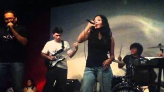 ELEVEN XI tocando una cancion del grupo kansas en el bar rockstar s...