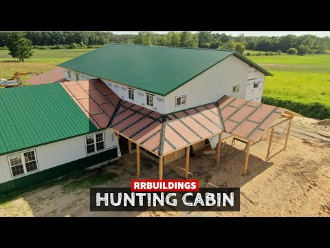 Building A Hunting Cabin 18: First Look At Final Shape
