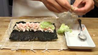 """Ролл  """" Snappy """"   How to Make Sushi"""