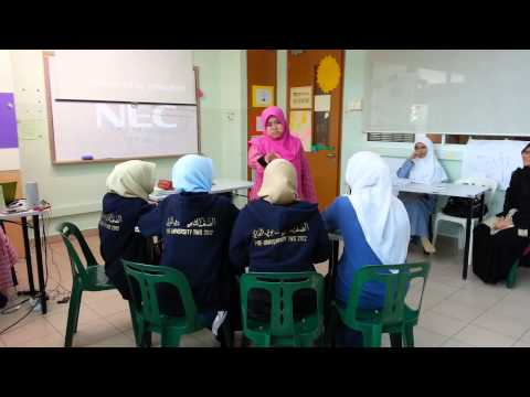 Tweens aLive Training @ Al Iman Mosque Pt 1( 30/11/2012 )