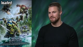 Stephen Amell on Ninja Turtles, Arrow/Supergirl crossover and WWE return