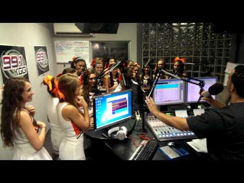Poly Cheer & Song on 991 KGGI!!!