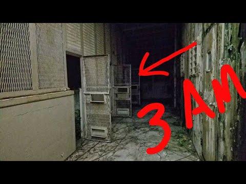 (3 AM CHALLENGE) Abandoned/Haunted Brushy Mountain State Prison