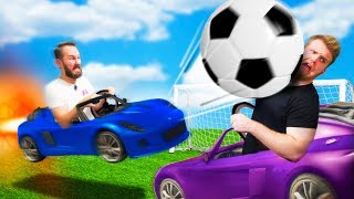 Rocket Car Soccer Challenge! | GTA5
