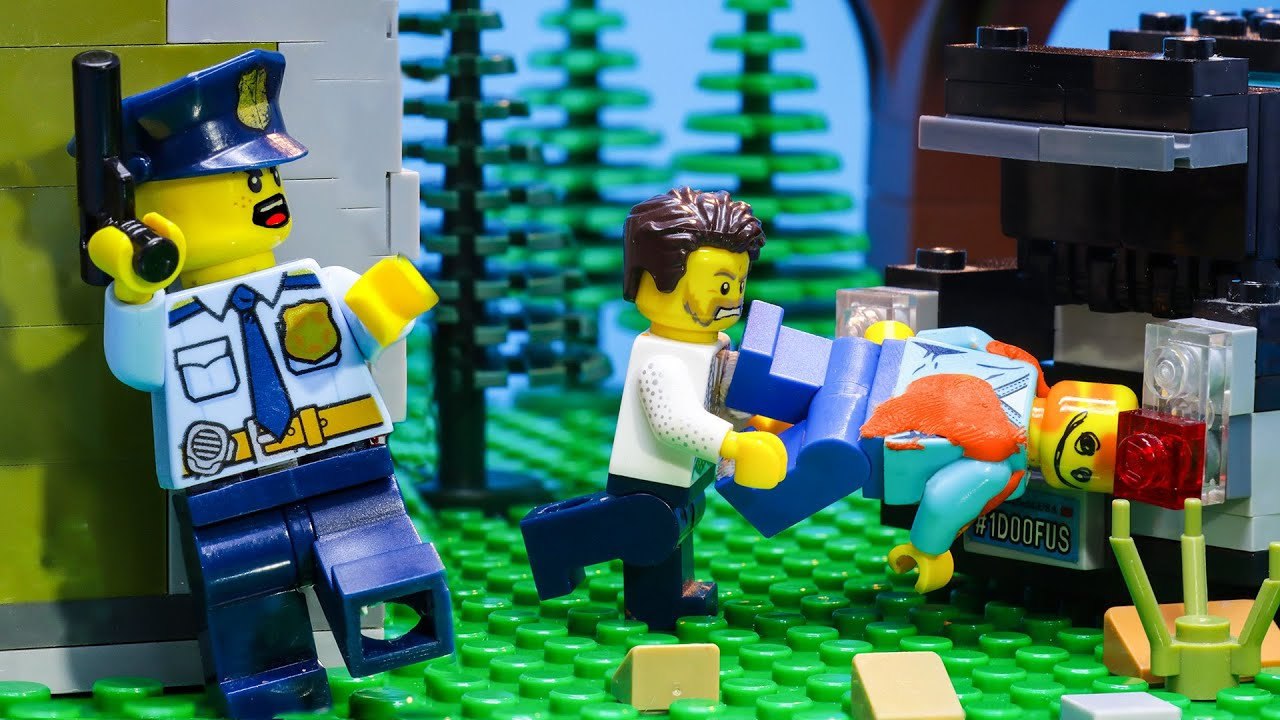 Lego City Police: Who is The Killer? - Lego Stop Motion Animation