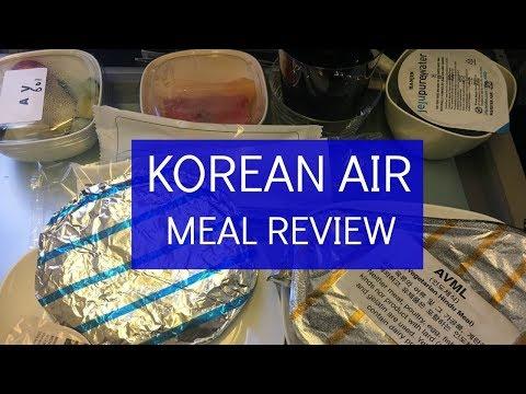 Korean Air Food Review