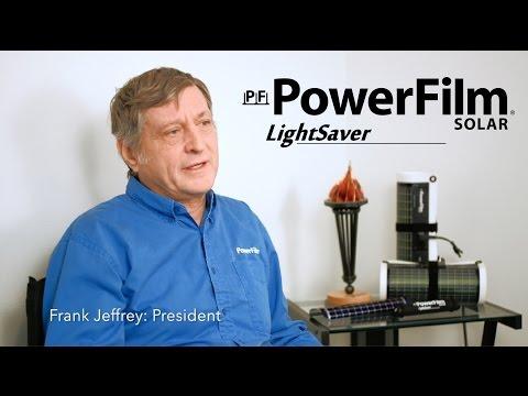 PowerFilm LightSaver: Innovative Energy Solutions