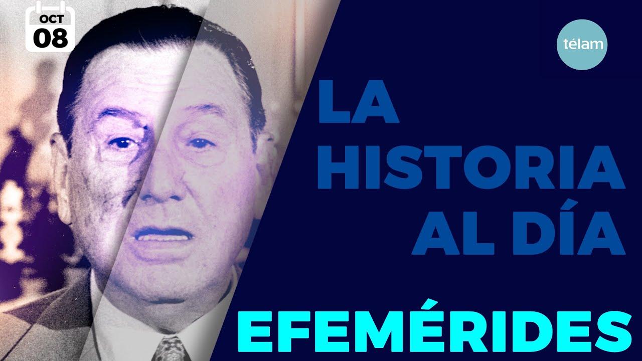 LA HISTORIA AL DÍA (EFEMÉRIDES 8 OCTUBRE)
