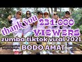 BODO AMAT  ZUMBA TIKTOK VIRAL 2021  song by julia vio&insan aoi  Choreo by ALLEA ZORGWE