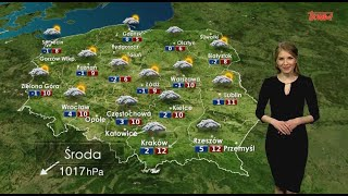 Prognoza pogody 10.04.2019