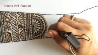 simple easy and intricate bridal mehendi for beginner episode 10