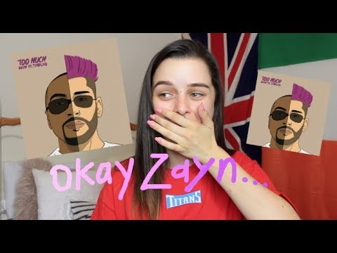 "ZAYN FT TIMBALAND ""TOO MUCH"" REACTION"