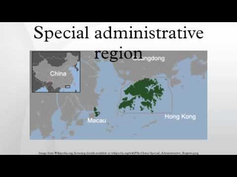 Special administrative region