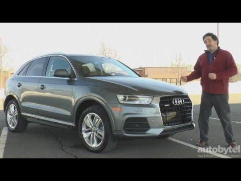 2016 Audi Q3 Premium Plus Quattro Test Drive Video Review – Sub-Compact Luxury Crossover