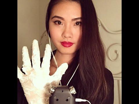 ASMR - Tingly Latex Gloves Sounds + Shaving Foam