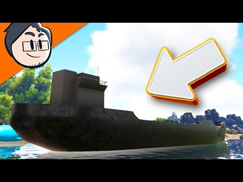 BUILDING A SECOND BASE ON MY BATTLESHIP!? l ARKMON SURVIVAL!