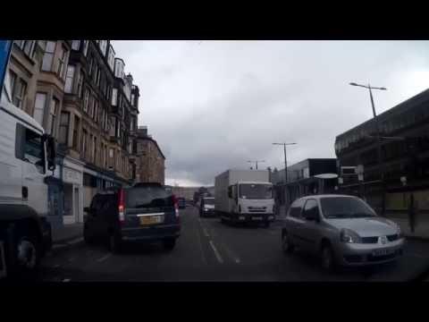 Drive Into Edinburgh Scotland