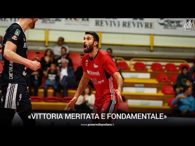 Superlega, l'intervista di Nicola Pesaresi dopo Milano - Castellana Grotte