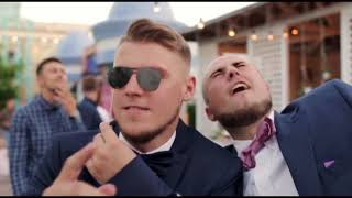видео Свадьба июля: воздушный летний праздник